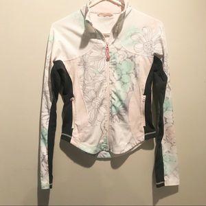 Lululemon Jacket Floral Pink Grey 6